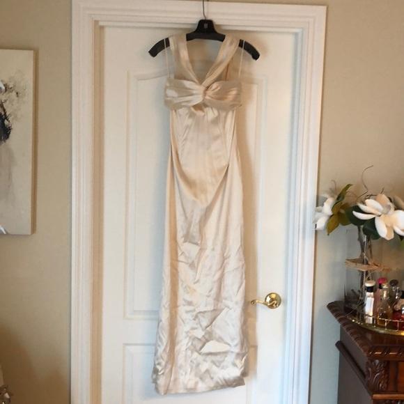 1ae74507a91 Dolce   Gabbana champagne silk gown